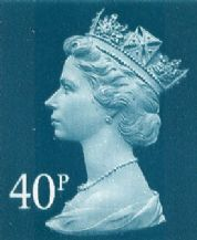 40p Cheap GB Postage Stamp